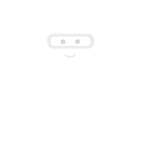 white marketing machine robot